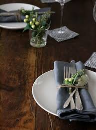thanksgiving tabletop a study in indigo gardenista