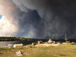 Wildfire Evacuation Stages by Smoke From Northern Manitoba Wildfire Prompts Evacuation Of 1 500