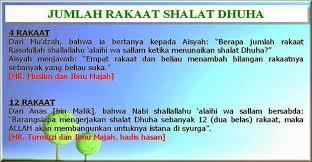 tutorial sholat dan bacaannya lengkap bacaan doa sholat dhuha dzikir niat latin dan artinya