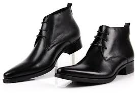 buy ankle boots for men pointed toe mens dress shoes genuine