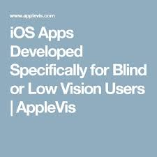 Assistive Technology For Blindness And Low Vision 260 Best Vi Blind Assistive Technology Images On Pinterest