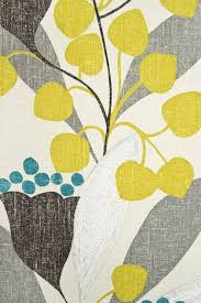 Teal And Yellow Curtains Want These Colors U0026 Similar Fabric For Curtains Bellflower Fabric
