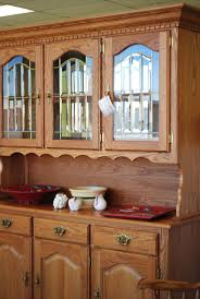3225 best images on pinterest amish furniture beautiful oak hutch with glass doors interior lighting dovetail construction clean unworn