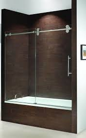 Sliding Bathtub Shower Doors Frameless Bathtub Doors Kinetik Frameless Sliding Tub Enclosure