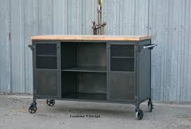 industrial kitchen furniture furniture buy custom made vintage industrial bar cart kitchen