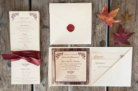 Wedding Programs With Ribbon Weddings Sleepy Hedgehog Press