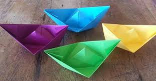 How To Make Boat From Paper - diy make a paper boat that floats