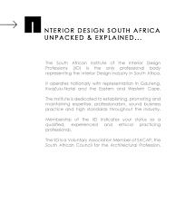 The Interior Design Institute South Africa Interior Design At Tecino Architecture U0026 Interior Design