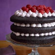 Chocolate Raspberry Recipes Dark Chocolate Raspberry Layer Cake Recipe