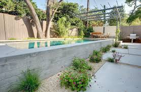 Backyard Concrete Ideas Above Ground Pool Deck Ideas Landscape Modern With Backyard