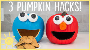 halloween pumpkin cartoons diy halloween pumpkin hacks youtube