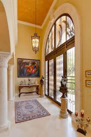 interesting decorating small foyer with classic chandelier in high