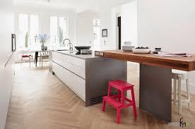 floating kitchen island minimalist kitchen style with white floating cabinet and grey