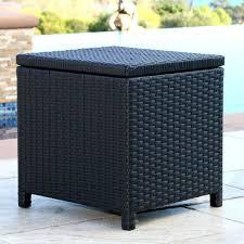 Narrow Storage Ottoman Black Leather Storage Cube Storage Ottoman With Tray Padded