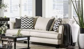 Kinsley Chevron Bedroom Set Gray Percey Off White Living Room Set From Furniture Of America
