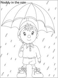 noddy coloring printable kids 2 coloring cartoons