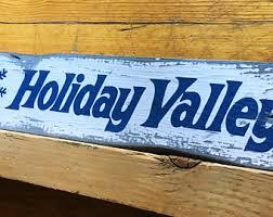 ski resort sign etsy