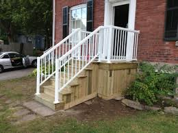 amazing patio door stairs pictures design wooden front porch steps