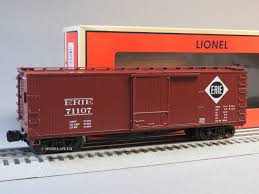 box car train lionel erie scale usra double sheathed boxcar 71107 o gauge