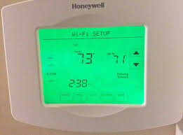 source 1 thermostat manual change wireless network on honeywell wifi thermostat rth8580wf