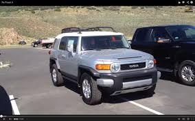 2014 Toyota Fj Cruiser Interior 2007 Toyota Fj Cruiser Full Tour Start Up Exhaust Engine