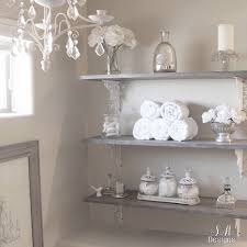 Decorate Bathroom Shelves Diy Bathroom Shelving Tutorial Master Bathrooms Shelving And