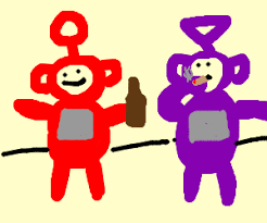 teletubbies bad drawing damian valenzuela