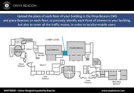wayfinder indoor routing powered by beacons onyx beacon