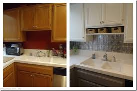 painted kitchen cabinets before and after grey medium size of
