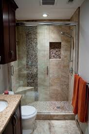 Small Bathroom With Shower Only by Extraordinary Small Bathroom Ideas With Corner Shower Only Pics