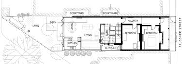 residence floor plan gallery of fitzroy north residence chan architecture 13