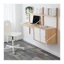 bureau mural ikea svalnäs combinaison de bureau murale bambou blanc bureau mural