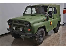 uaz jeep 1987 uaz military for sale classiccars com cc 854789