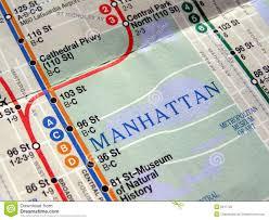 Ny Subway Maps by New York Subway Map Royalty Free Stock Photo Image 5917725
