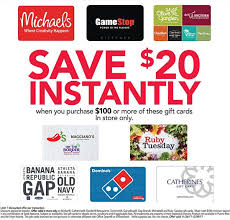 additional savings on select gift cards domino u0027s gamestop