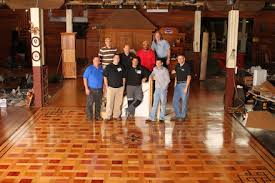 nwfa teaches expert sand finish in richmond va wood