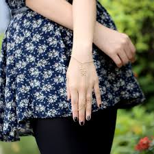 women hand bracelet images Retro vintage gold filled wrist bracelets new 2016 recommend jpg