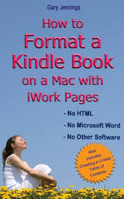 how to format a kindle book on a mac with iwork pages ebook gary