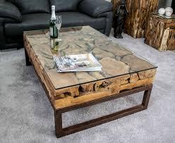 Wohnzimmer Tisch Deko Couchtisch Aus Altholz Der Tischonkel