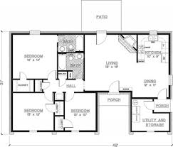 3 bedroom home design plans modular homes floor plans 1350 square