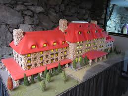 asheville annual national gingerbread house competetion display