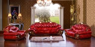 Living Room Furniture Ma Luxury Big European Leather Sofa Set Living Room Sofa Made In