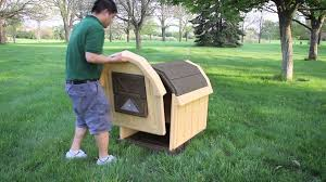 Doghouse For Large Dogs Asl Solutions Dog Palace Insulated Doghouse Assembly