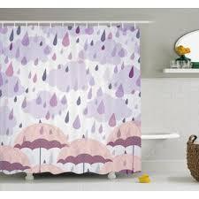 Swag Shower Curtain Sets Double Swag Shower Curtain Set Wayfair
