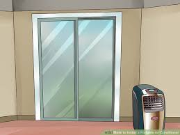How To Install A Patio Door by How To Install A Portable Air Conditioner 10 Steps