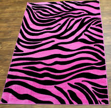 Zebra Bedroom Furniture by Alluring Zebra Print Rug Design Ideas Featuring Brown Laminated