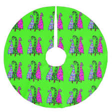 lime green tree skirts zazzle