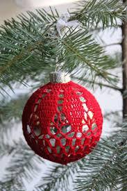 9 best kerstballen u0026 hangers haken images on pinterest christmas
