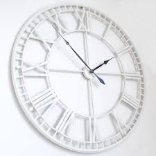 Minimalistic Wall Clock by Large Mirrored Wall Clock Mirrored Wall Clocks Large Mirror Design