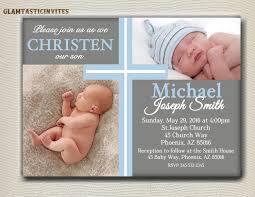 Invitation Cards For Christening Baptism Invitations For Boys Vertabox Com
